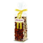 Sacchetto di croccante alle mandorle, nocciole o arachidi