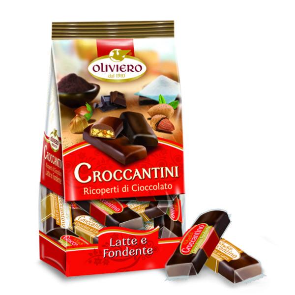 croccantini ricoperti di cioccolato