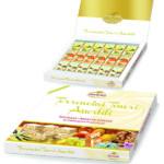 Confezione regalo con 18 torroncini in astucci 3 gusti