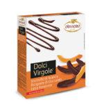 Scorzette di arancia ricoperte di cioccolato fondente