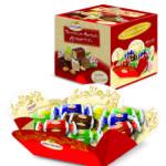 Confezione di torroncini morbidi Assortiti ricoperti di cioccolato (fondente, latte, caffè, vaniglia e limone)