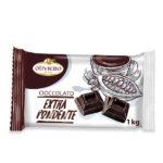 Blocco di cioccolato extra fondente