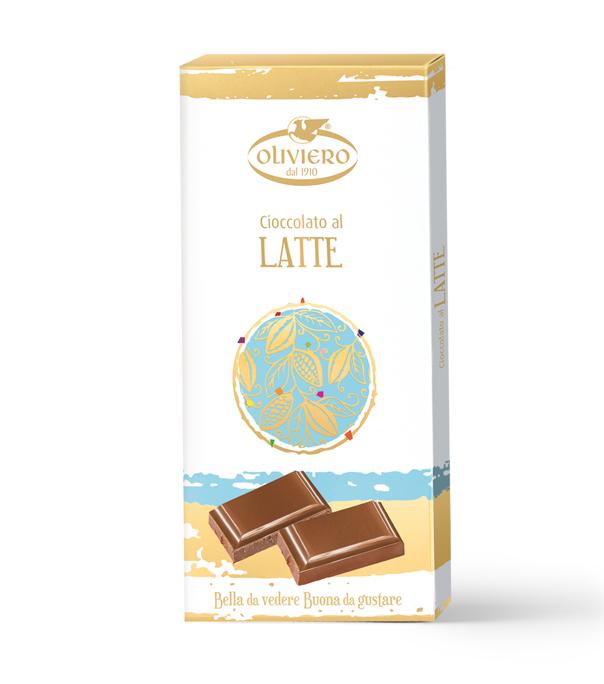 barretta di cioccolato al latte