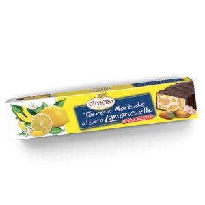Torrone morbido al gusto limoncello