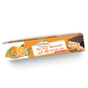 Torrone morbido all'arancia