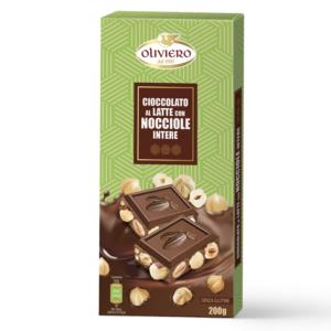 cioccolato con nocciole al latte 200 g